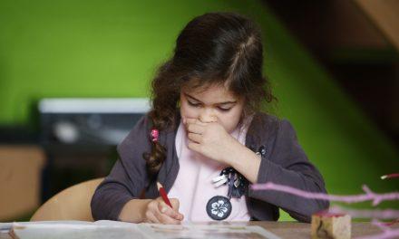 Impressie info-avond IJsselgroep 'Faciliteiten en hulpmiddelen bij dyslexie' voor ouders en leerkrachten.
