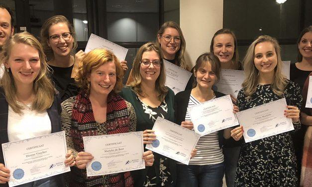 Psychologen en pedagogen van de IJsselgroep bekwamen zich verder in Cognitieve Gedragstherapie